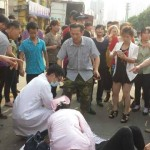 Lide shoe workers beaten and arrested during assembly in Guangzhou