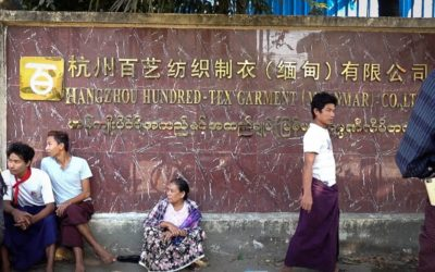 Notes on a factory uprising in Yangon